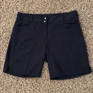 Adidas Navy Golf Shorts Size 8
